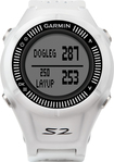 Garmin - Approach S2 Golf GPS Watch - White/Gray