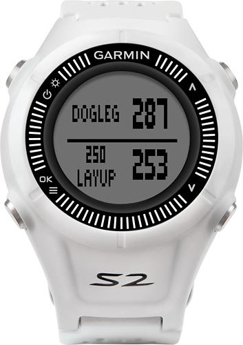 Garmin - Approach S2 Golf GPS Watch - White/Gray