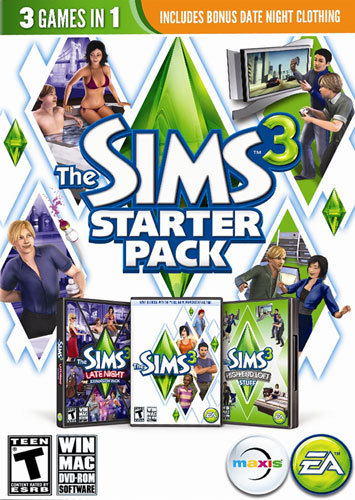 PC-THE SIMS 3 STARTER...