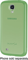 Samsung - Protective Cover + Case for Samsung Galaxy S 4 Mobile Phones - Green