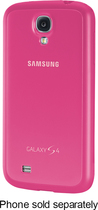 Samsung - Protective Cover + Case for Samsung Galaxy S 4 Mobile Phones - Pink