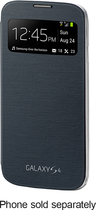 Limited Offer Samsung – S-view Flip-cover Case For Samsung Galaxy S 4 Mobile Phones – Black Before Too Late