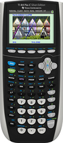 Texas Instruments - TI-84 Plus Graphing Calculator - Black