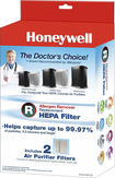Honeywell - True Hepa Filters For Select Air Purifiers (2-pack) - White 8877292