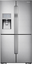 Samsung - 31.7 Cu. Ft. 4-Door French Door Refrigerator with Convertible Zone - Stainless-Steel