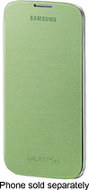 Samsung - Flip-Cover Case for Samsung Galaxy S 4 Mobile Phones - Green