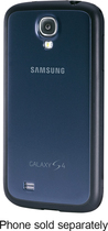 Samsung - Protective Cover + Case for Samsung Galaxy S 4 Mobile Phones - Navy