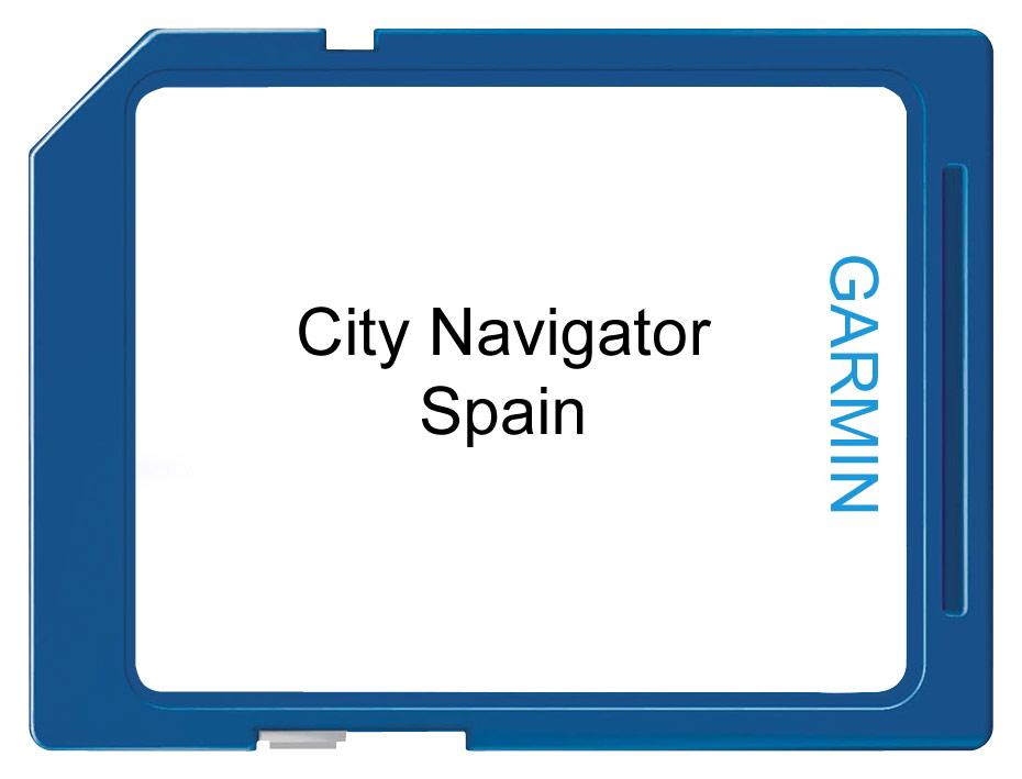Garmin - City Navigator NT, Spain & Portugal Digital Map - Multi