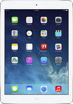 Apple - Ipad Air With Wi-fi + Cellular - 64gb - (at & t) - Silver/white