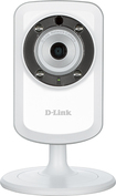 D-Link - Day and Night Wi-Fi Video Security Camera - White