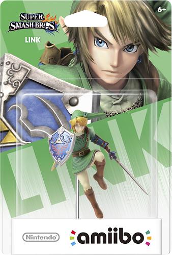 amiibo Figure (Link) - Nintendo Wii U