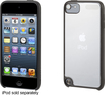 Griffin Technology - Reveal Hard Shell Case for Apple® iPod® touch 5th Generation - Black/Clear