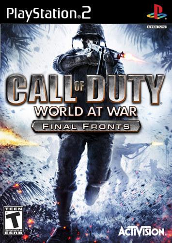 Call of Duty: World at War - Final Fronts - PlayStation 2