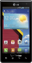 Verizon Wireless Prepaid - LG Optimus Exceed No-Contract Cell Phone - Black