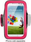 Belkin - Slim-Fit Armband Case for Samsung Galaxy S 4 Mobile Phones - Fuchsia