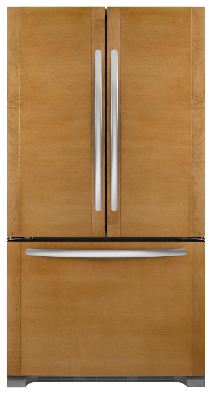 KitchenAid - Architect II 21.8 Cu. Ft. French Door Refrigerator - Custom Panel Ready - Custom Panel Ready