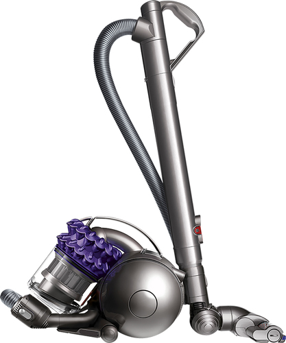 Dyson - Ball Compact Animal Bagless Canister Vacuum - Iron/Purple