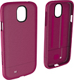Incase - Crystal Slider Case for Samsung Galaxy S 4 Mobile Phones - Raspberry