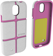 SYSTM by Incase - Chisel Case for Samsung Galaxy S 4 Mobile Phones - White/Pink