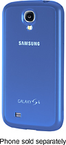 Samsung - Protective Cover for Samsung Galaxy S 4 Mobile Phones - Light Blue