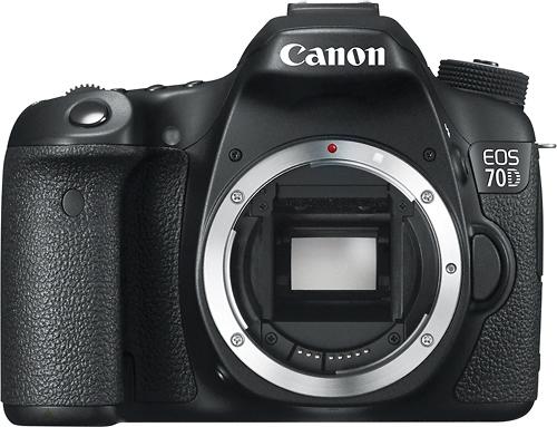 Canon - EOS 70D DSLR Camera (Body Only) - Black