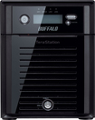 Buffalo Technology - TeraStation 5400 12TB 4-Drive Network/ISCSI Storage - Black