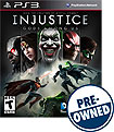 Injustice: Gods Among Us - PRE-OWNED - PlayStation 3