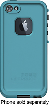 LifeProof - Case for Apple® iPhone® 5 - Teal