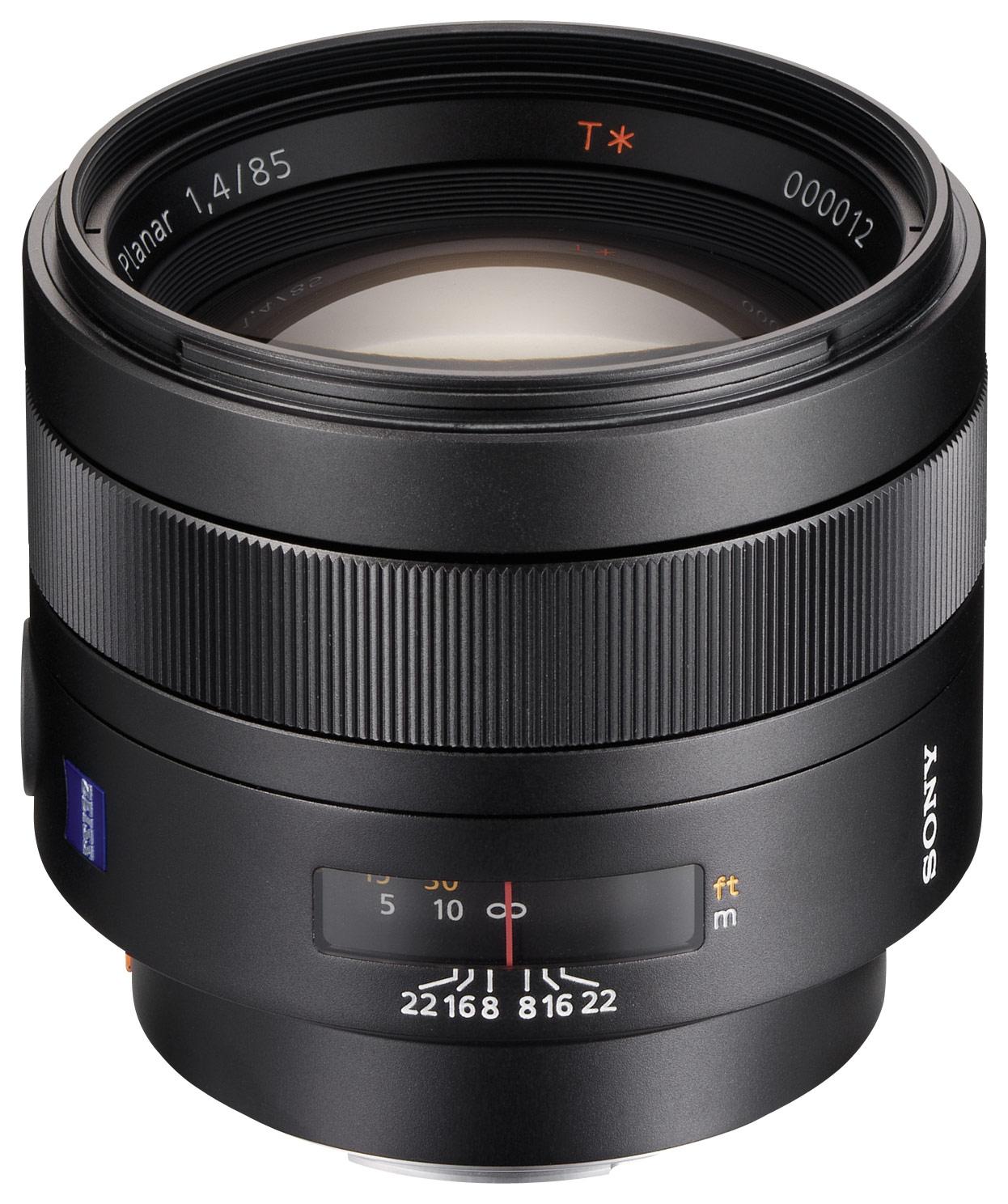 Sony - Carl Zeiss 85mm f/1.4 A-Mount Medium Telephoto Lens - Black