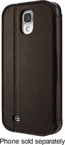 Belkin - Leather Wallet Folio for Samsung Galaxy S 4 Mobile Phones (AT&T, Verizon, Sprint) - Brown
