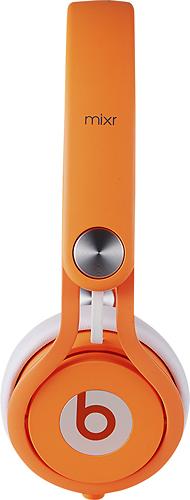 Beats by Dr. Dre - Beats Mixr On-Ear Headphones - Neon Orange