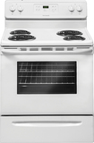 "Frigidaire - 30"" Self-Cleaning Freestanding Electric Range - White"