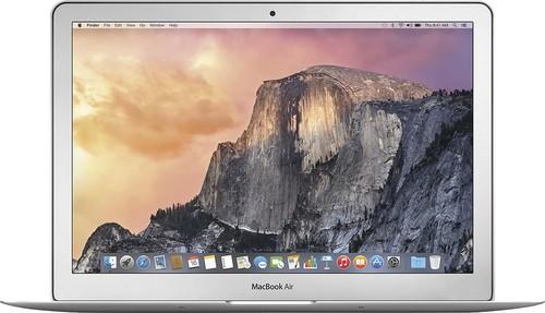 Apple - Geek Squad Certified Refurbished MacBook Air® 13.3 Display Intel Core i5 4GB Memory 256GB Flash Storage - Silver