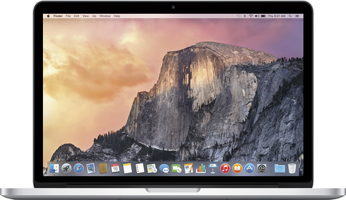 Apple - Geek Squad Certified Refurbished MacBook® Pro with Retina display - 13.3 - 8GB Memory - 512GB Flash Storage - Silver