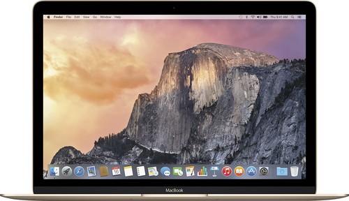 Apple - Geek Squad Certified Refurbished - 12 Display - Intel Core M - 8GB Memory - 512GB Flash Storage - Gold