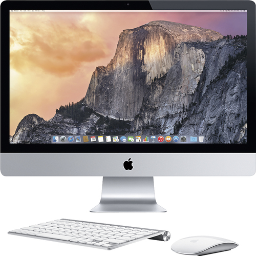 Apple - Geek Squad Certified Refurbished 27 with Retina 5K display - Intel Core i5 (3.5GHz) - 8GB Memory - 1TB Hard Drive - White