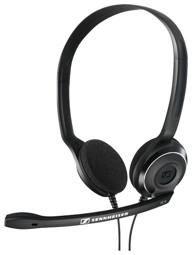 Sennheiser - PC 8 USB On-Ear Gaming Headset - Black