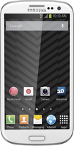 Virgin Mobile - Samsung Galaxy S III 4G No-Contract Cell Phone - White