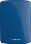 Toshiba - Canvio Connect 2TB External USB 3.0/2.0 Portable Hard Drive - Blue