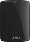 Toshiba - Canvio Connect 1TB External USB 3.0/2.0 Portable Hard Drive - Black