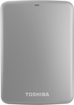 Toshiba - Canvio Connect 1TB External USB 3.0/2.0 Portable Hard Drive - Silver