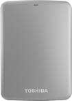 Toshiba - Canvio Connect 500GB External USB 3.0/2.0 Portable Hard Drive - Silver