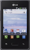 TELCEL - LG Optimus Dynamic No-Contract Cell Phone - Black