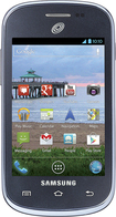 NET10 - Samsung Galaxy Discover No-Contract Cell Phone - Gray