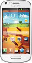 Boost Mobile - Samsung Galaxy Prevail 2 No-Contract Cell Phone - White