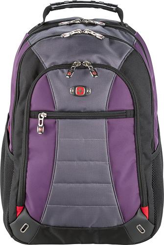 SwissGear - Skywalk Laptop Backpack - Purple