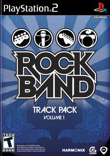 Rock Band Track Pack Volume 1 - PlayStation 2