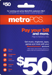 MetroPCS - $50 Pay Your Bill Wireless Card