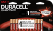 Duracell - Quantum AAA Batteries (12-Pack) - Red