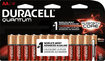Duracell - Quantum AA Batteries (12-Pack) - Red